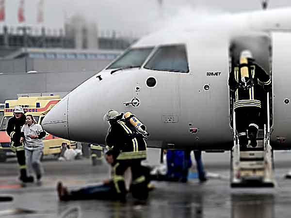 Flugzeug Brand